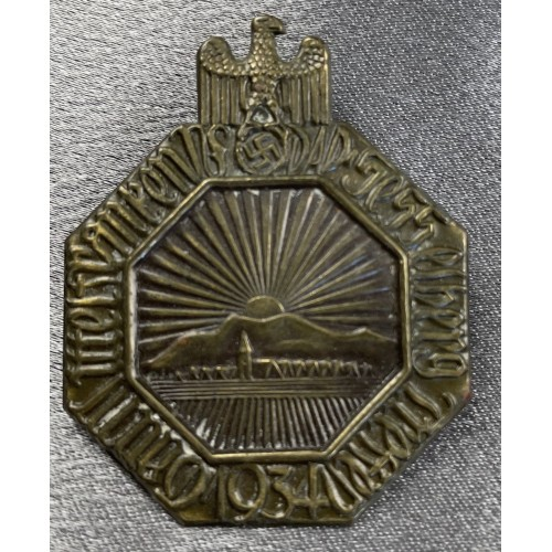 Gau Mittelfranken NSDAP Sesselberg Treffen 1934 # 7976