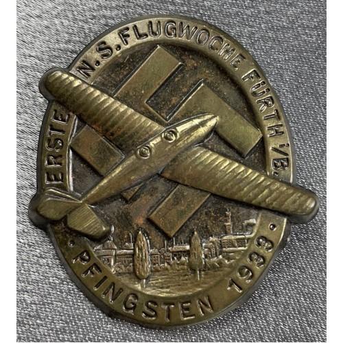 Erste N.S. Flugwoche Fürth i./B. Pfingsten 1933 Tinnie # 7977
