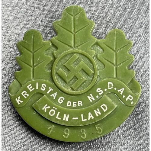 Kreistag der N.S.D.A.P. Köln-Land Tinnie # 8005