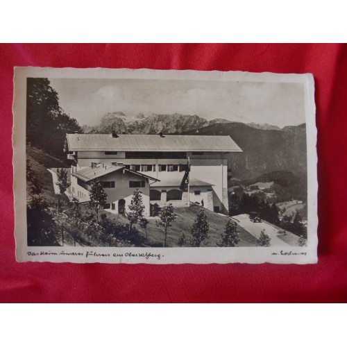 Berghof Obersalzberg Postcard # 2526