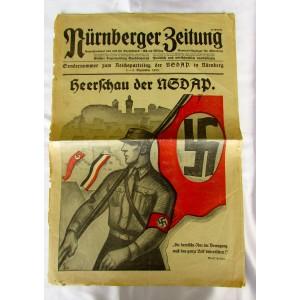 Nürnberger Zeitung Newspaper # 5098