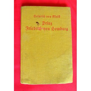 """""""Prinz Friedrich von Homburg"""" Book # 5099"""