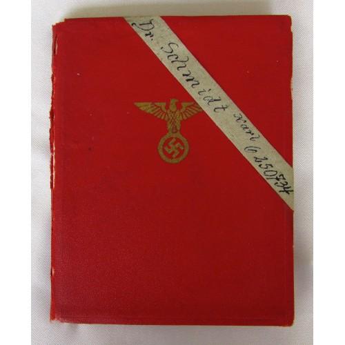 NSDAP Membership Book # 5100
