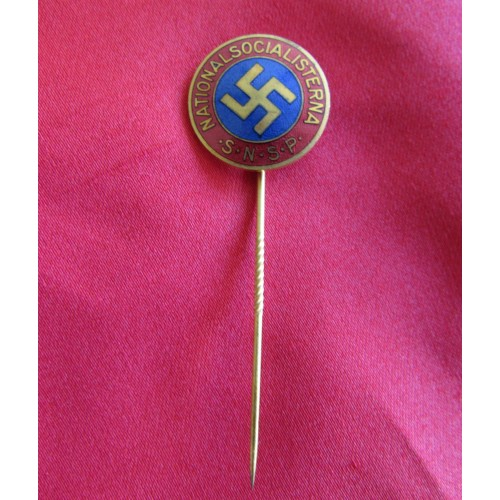 Swedish SNSP Stickpin # 5109