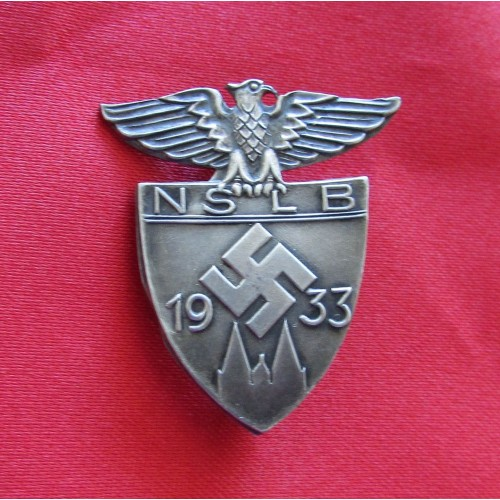 NSLB 1933 Honor Badge # 5119