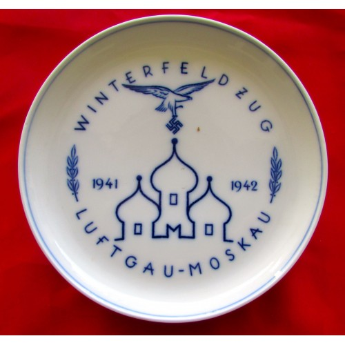 Luftwaffe Moscow Plate # 5128