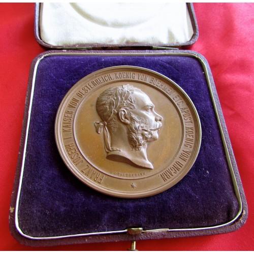 Franz Jospeh Medallion # 5138