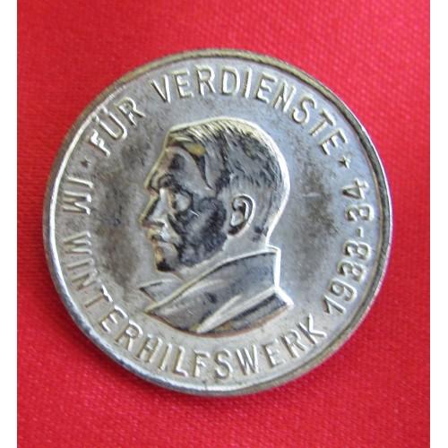 WHW Hitler Pin