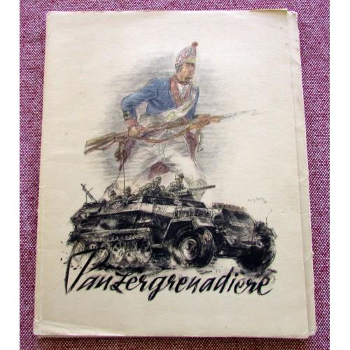 Panzergrenadiere. Herausgeber: OKH # 5143
