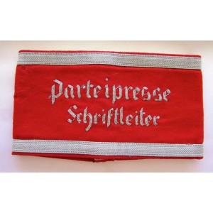Party Press Editor Armband # 5176