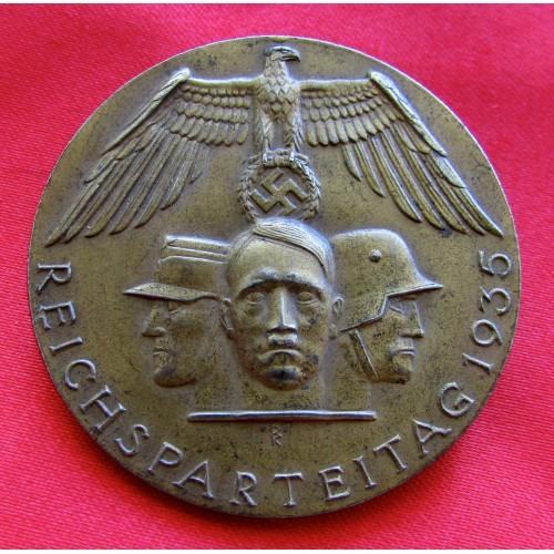 1935 NSDAP Reichsparteitag Tinnie # 5179