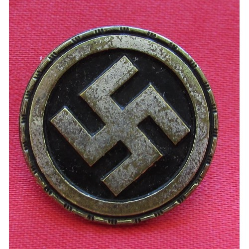 Sympathizer Badge # 5204