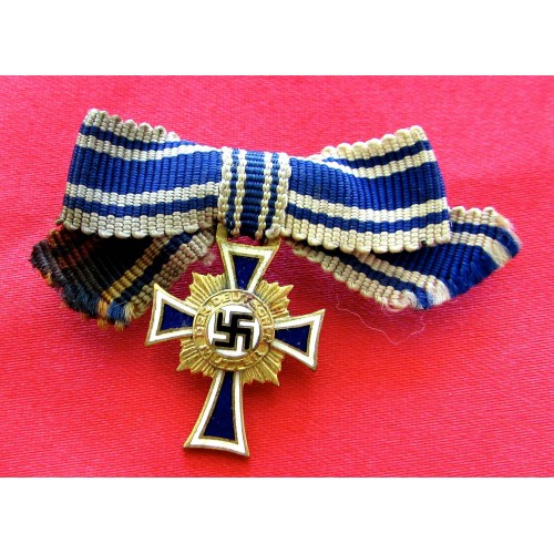 Mother's Cross in Gold Miniature # 5199