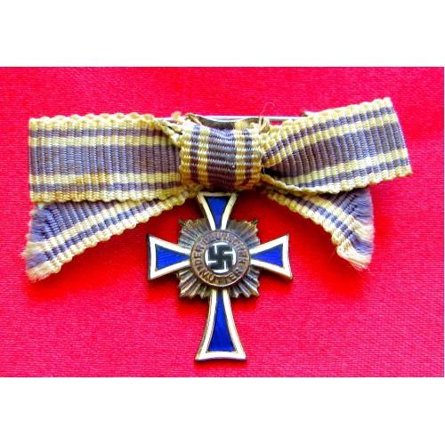 Mother's Cross in Bronze Miniature # 5200