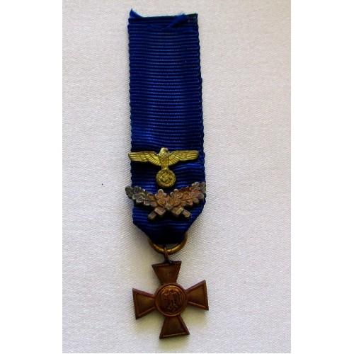 Heer 40 Year Long Service, miniature # 5216