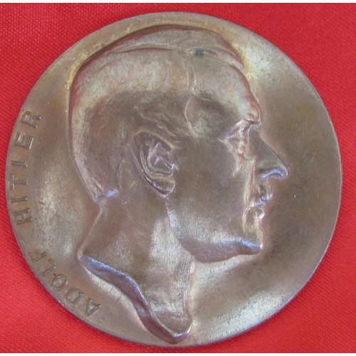 Hitler Medallion # 5213