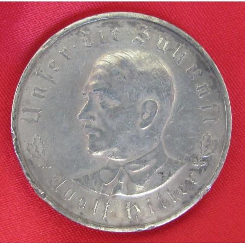 Hitler Medallion # 5231