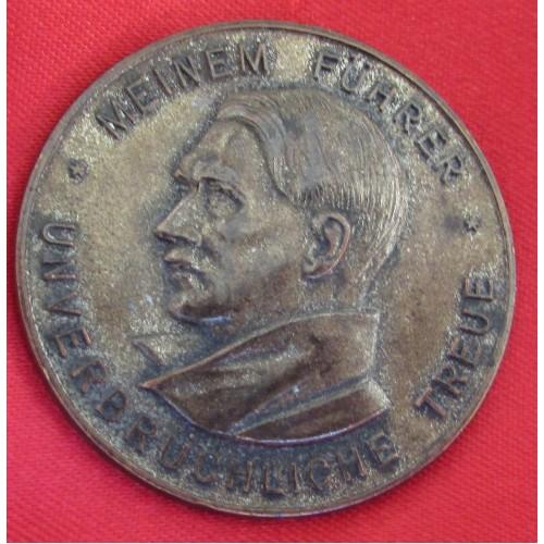 Hitler Medallion # 5237