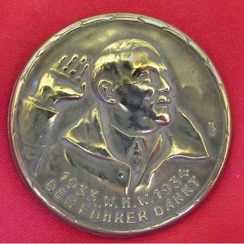 Hitler WHW Dankt Pin # 5242