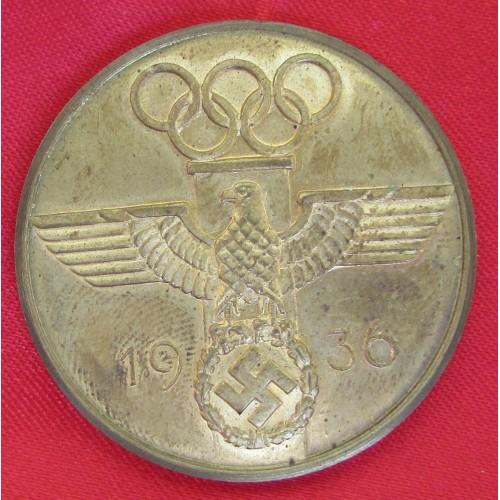 1936 Olympics Medallion # 5238
