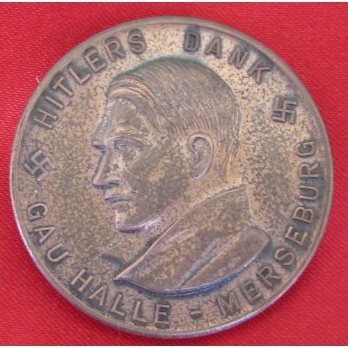 Hitler Medallion # 5250