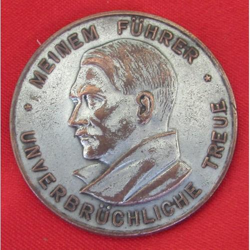 Hitler Medallion # 5249