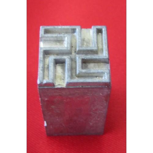 Newsprint Swastika # 5252