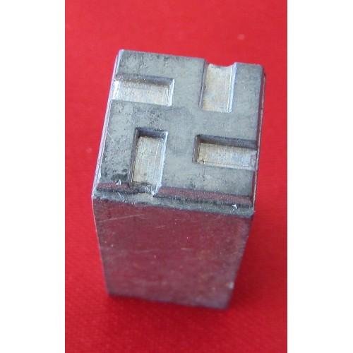 Newsprint Swastika # 5253