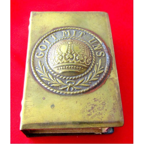 Imperial Metal Match Book Cover # 5255