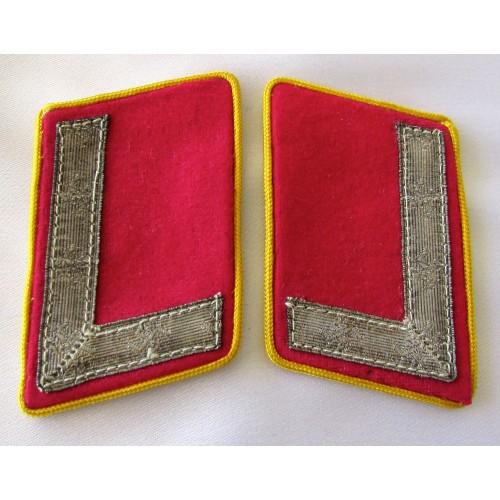 Reichsleitung Stellenleiter Collar Tabs # 5286