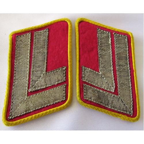 Reichsleitung Hauptstellenleiter Collar Tabs # 5287