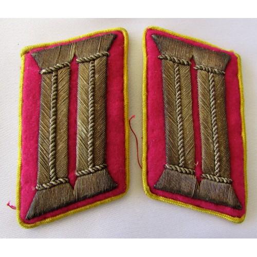 Reichsleitung Amtsleiter Collar Tabs # 5288