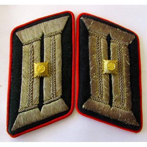 Gauleitung Retired Hauptamtsleiter Collar Tabs # 5293