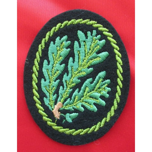 Jäger Regiment Cloth Insignia # 5305
