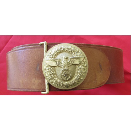 Political Leader's Belt and Buckle # 5311