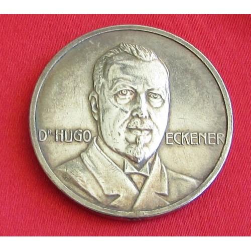 Dr Hugo Eckener ZEPPELIN Medallion # 5316