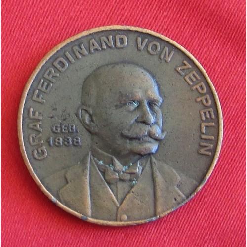 Graf Ferdinand von Zeppelin Medallion # 5320