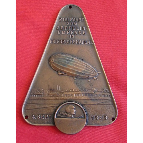 Zeppelin Auto Club Plaque # 5336