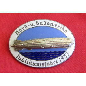 Zeppelin Enamel Badge # 5342