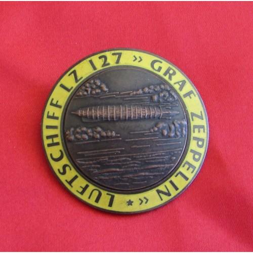 Zeppelin Commemorative Badge # 5344