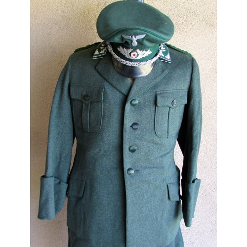 Forestry Tunic and Visor