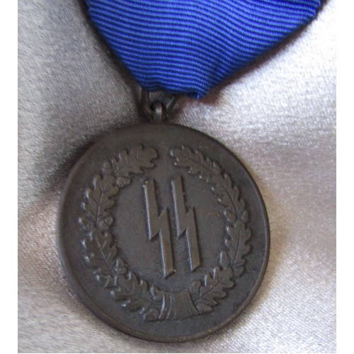 SS 4 Year Long Service Medal