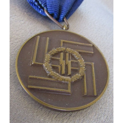 SS 8 Year Long Service Medal # 5017