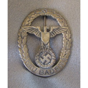 NSDAP Gau Baden Badge of Honor # 5021