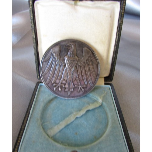 NS Lifesaving Medal, Cased