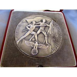 1938 Reichsparteitag Table Medallion # 5027