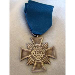Danzig 25 Year Medal # 5028