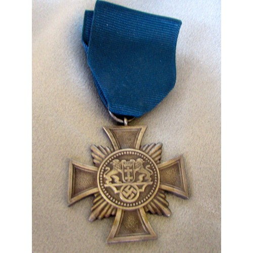 Danzig 25 Year Medal