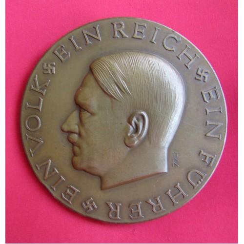 Adolf Hitler Medallion # 5033