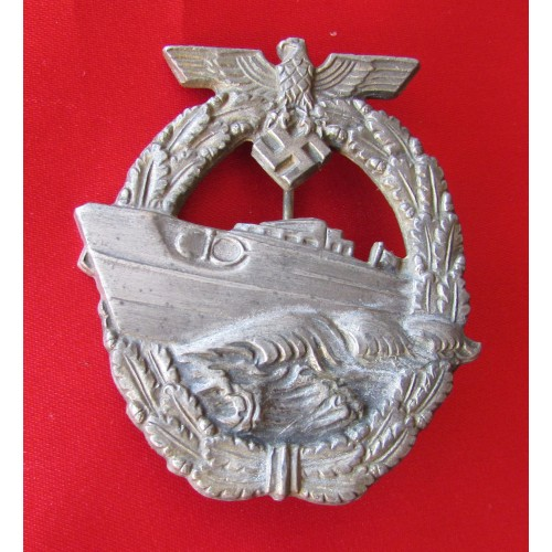 E Boat Badge # 5045